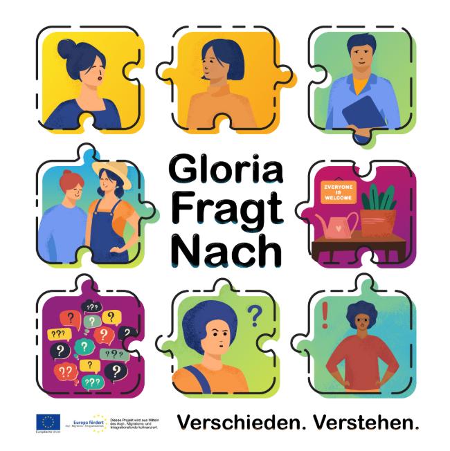 """Podcast """"Gloria Fragt Nach"""""""